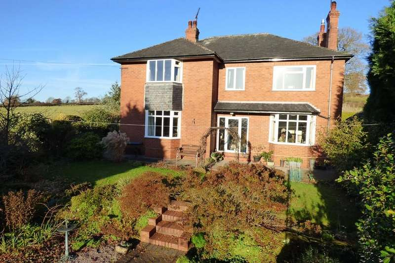 4 Bedrooms Detached House for sale in Uttoxeter Road, Checkley