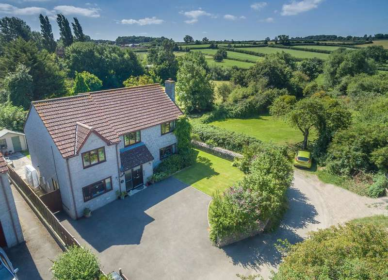 5 Bedrooms Detached House for sale in Brook Lane, Barton St. David
