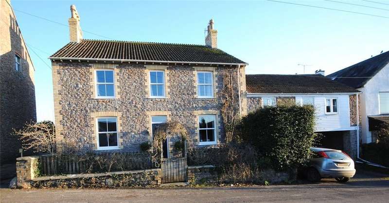 6 Bedrooms Detached House for sale in The Street, Draycott, Cheddar, Somerset, BS27