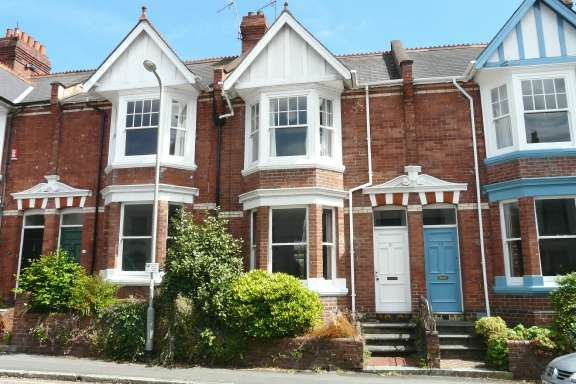 3 Bedrooms Terraced House for rent in Exeter