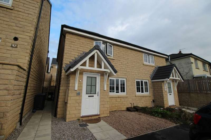 2 Bedrooms Semi Detached House for sale in The Knoll, Keighley, BD22