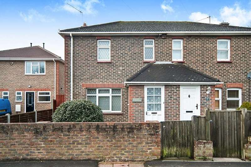3 Bedrooms Semi Detached House for sale in Langney Cottages Langney Rise, Eastbourne, BN23