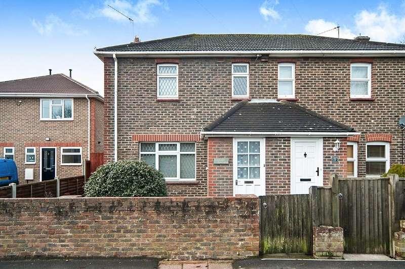 3 Bedrooms Semi Detached House for sale in Langney Cottages Langney Rise, Eastbourne, BN23