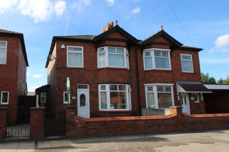 3 Bedrooms Semi Detached House for sale in Ladysmith Avenue, Ashton-In-Makerfield, Wigan, WN4