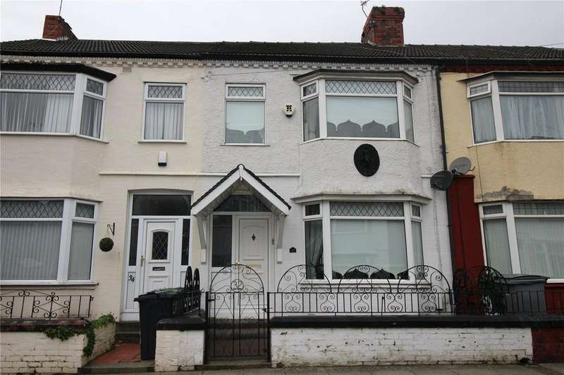 3 Bedrooms Terraced House for sale in Elderwood Road, Birkenhead, Merseyside, CH42