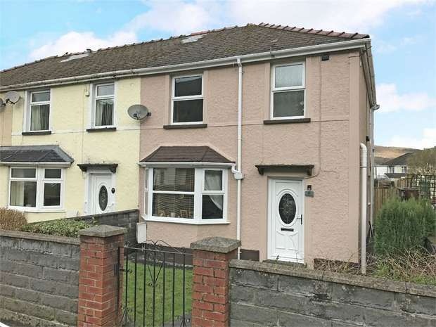 3 Bedrooms Semi Detached House for sale in Heol Wenallt, Cwmgwrach, Neath, West Glamorgan