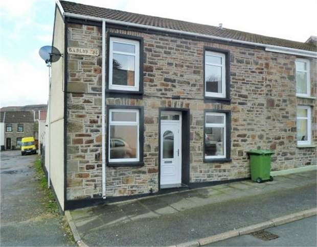 2 Bedrooms End Of Terrace House for sale in Gadlys Street, Aberdare, Mid Glamorgan