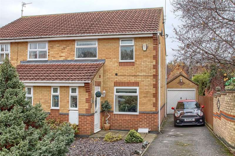 2 Bedrooms Semi Detached House for sale in Spaunton Close, Hemlington