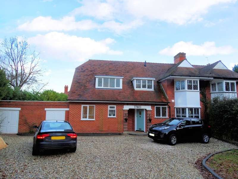4 Bedrooms Semi Detached House for sale in Gentleshaw Lane, Solihull