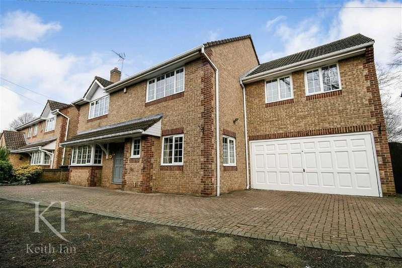 5 Bedrooms Detached House for sale in Hedgerow Walk, Cheshunt