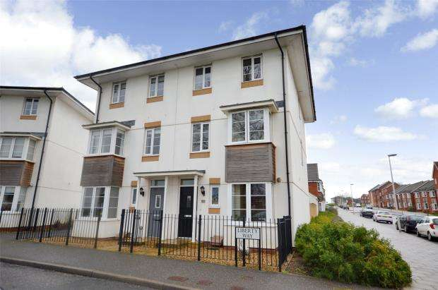 4 Bedrooms Semi Detached House for sale in Liberty Way, Exeter, Devon