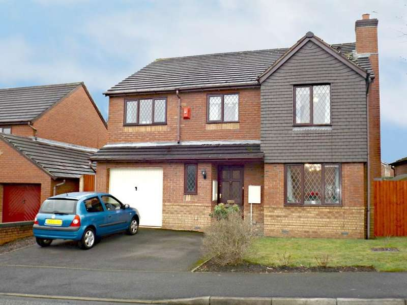 5 Bedrooms Detached House for sale in Merrivale Road, Wistaston