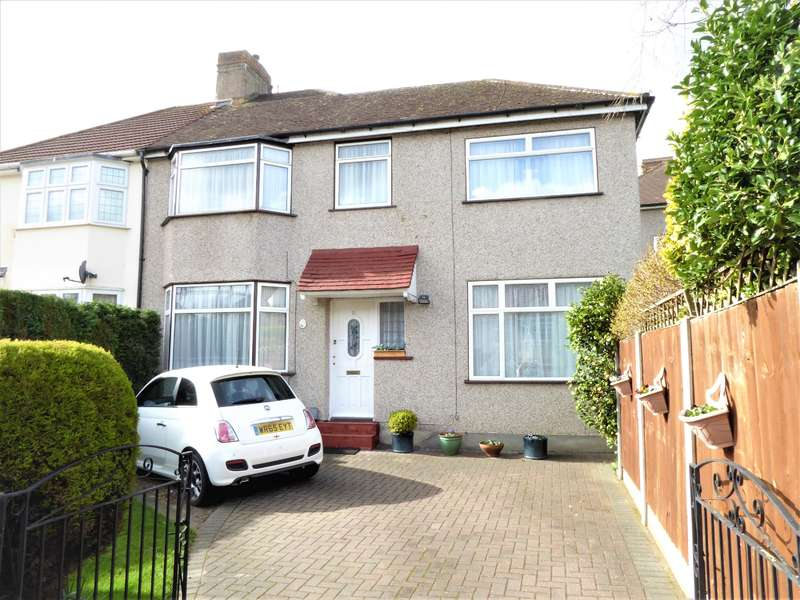 3 Bedrooms Semi Detached House for sale in Martens Avenue, Bexleyheath, Kent, DA7 6BA