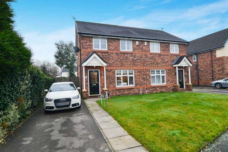 3 Bedrooms Semi Detached House for sale in Highmarsh Crescent, Newton Le Willows