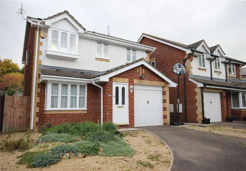 4 Bedrooms Detached House for sale in Campion Drive, Bradley Stoke, Bristol, BS32