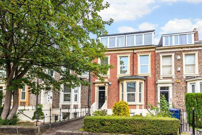 2 Bedrooms Apartment Flat for sale in Middle Flat, Akenside Terrace, Jesmond, Newcastle Upon Tyne, Tyne Wear