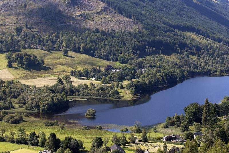 Detached House for sale in Plot 4, Stronvar, Loch Voil, Balquhidder, Perthshire
