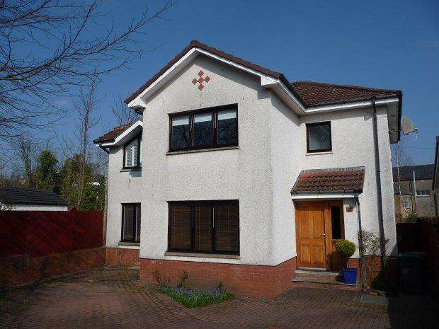 4 Bedrooms Detached House for rent in Douglas Avenue, Giffnock, Glasgow