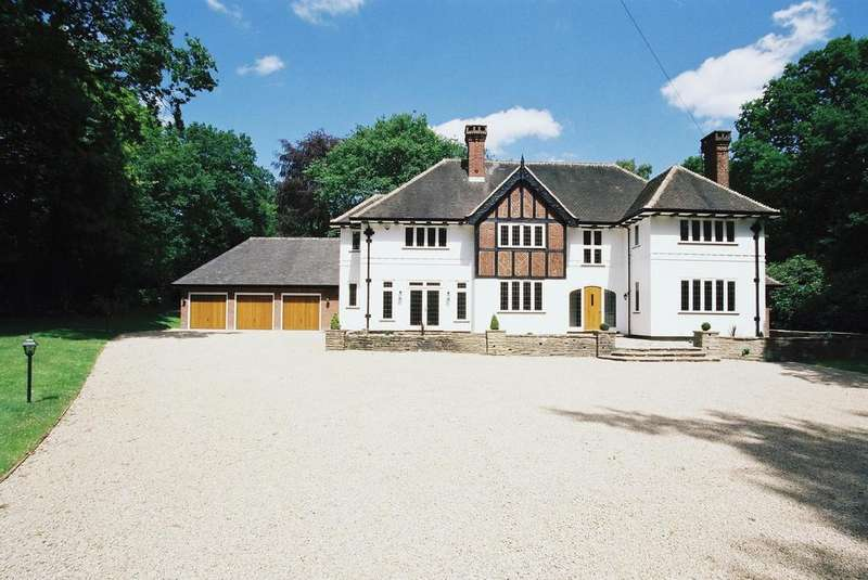 6 Bedrooms Detached House for sale in Roman Road, Little Aston Park, Sutton Coldfield,