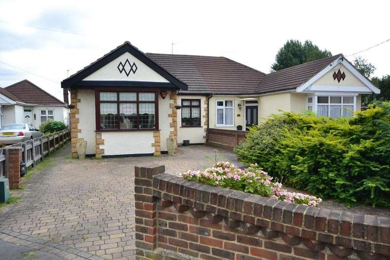 3 Bedrooms Semi Detached Bungalow for sale in Moor Lane, Upminster, Essex, RM14