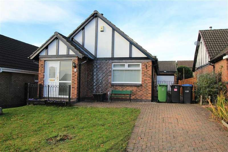 2 Bedrooms Detached Bungalow for sale in Newburn Court, Newton Aycliffe, County Durham