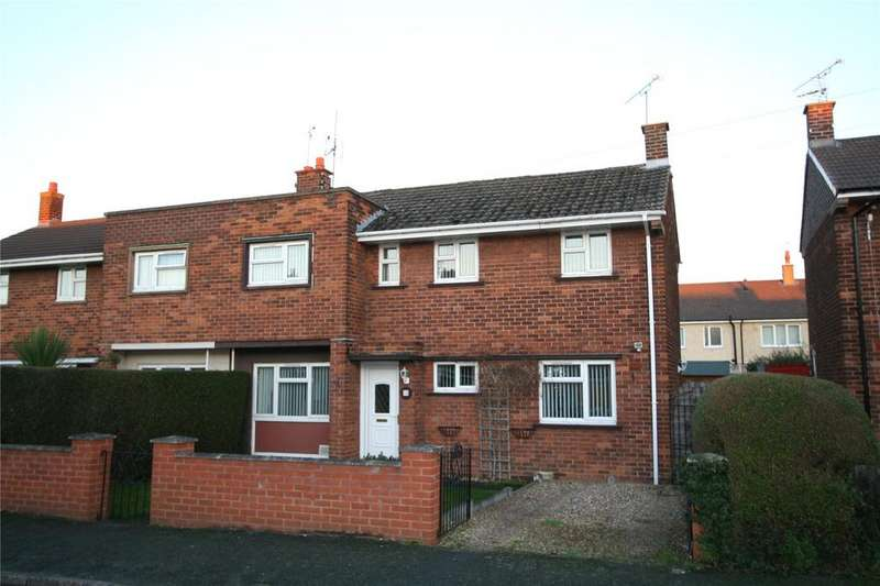 3 Bedrooms Semi Detached House for sale in Conway Drive, Wrexham, LL13