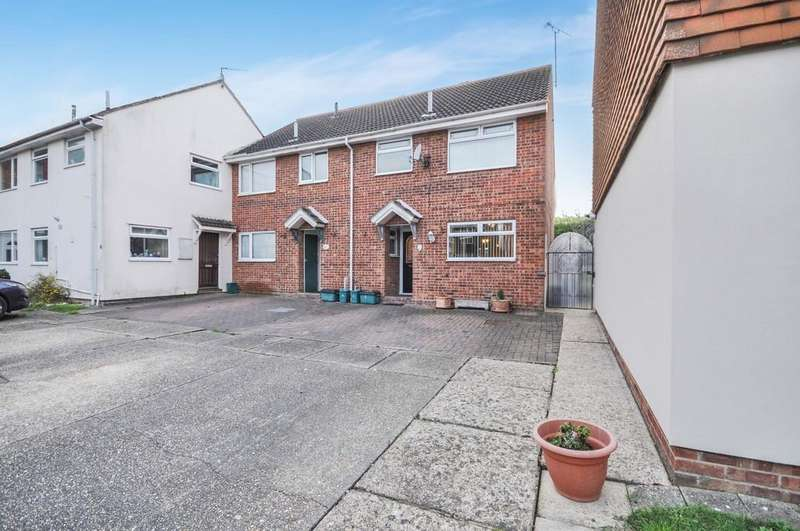 3 Bedrooms Semi Detached House for sale in Roach Vale, Colchester