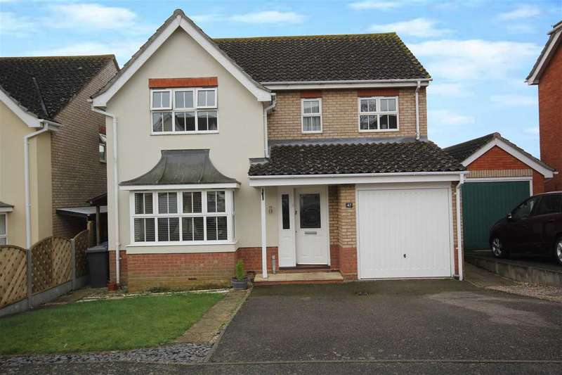 4 Bedrooms Detached House for sale in Richard Burn Way, Sudbury