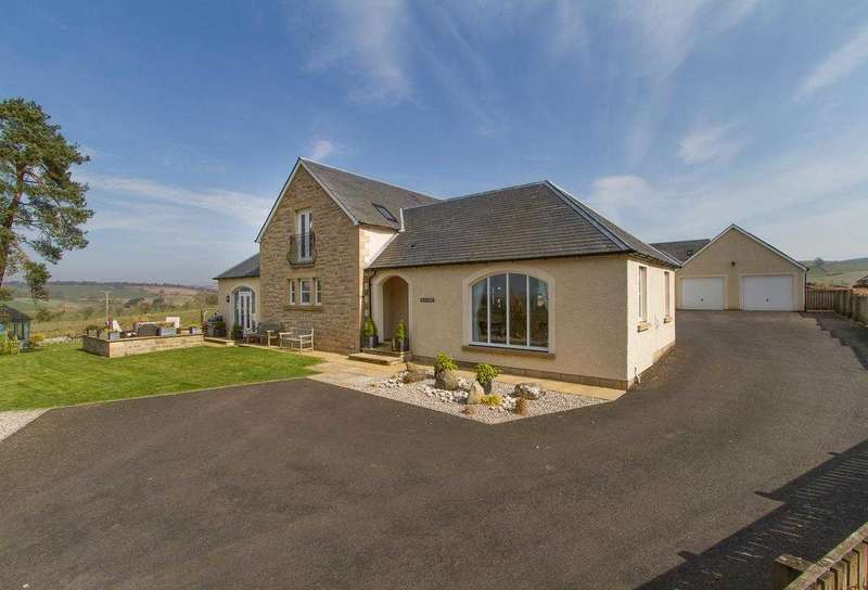 5 Bedrooms Detached House for sale in Ochil Lodge, Tethyknowe, Dollar