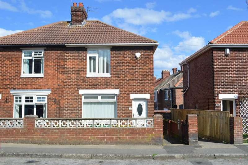 2 Bedrooms Semi Detached House for sale in Greenside Avenue, Horden, Peterlee