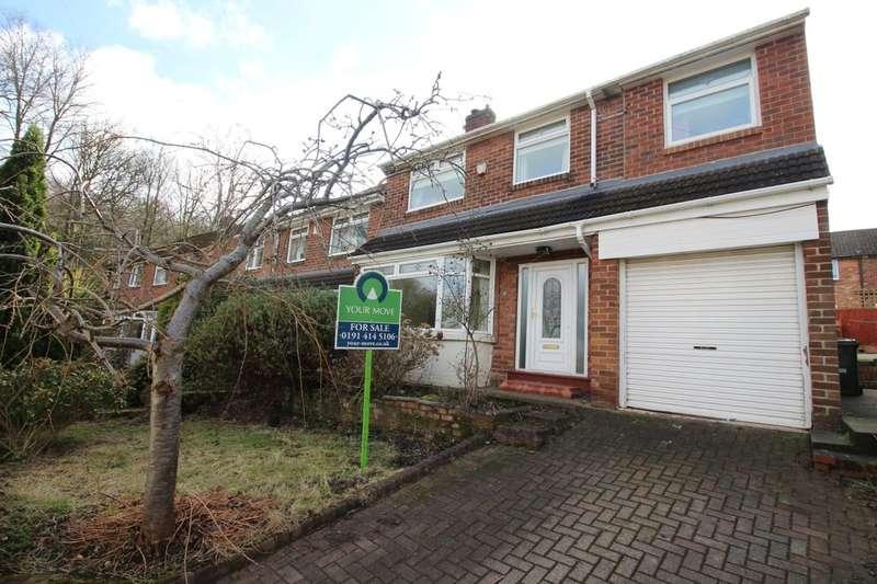 5 Bedrooms Semi Detached House for sale in Hall Park, Stella, Blaydon-On-Tyne, NE21