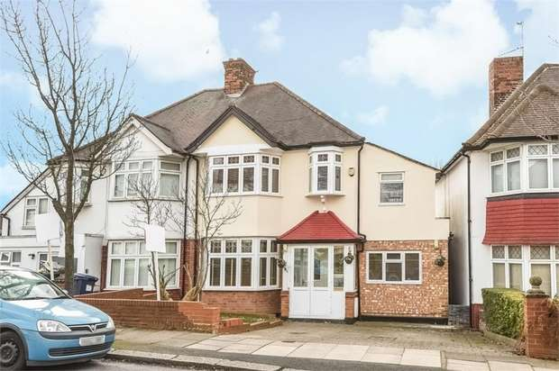 5 Bedrooms Semi Detached House for sale in Tithe Walk, LONDON
