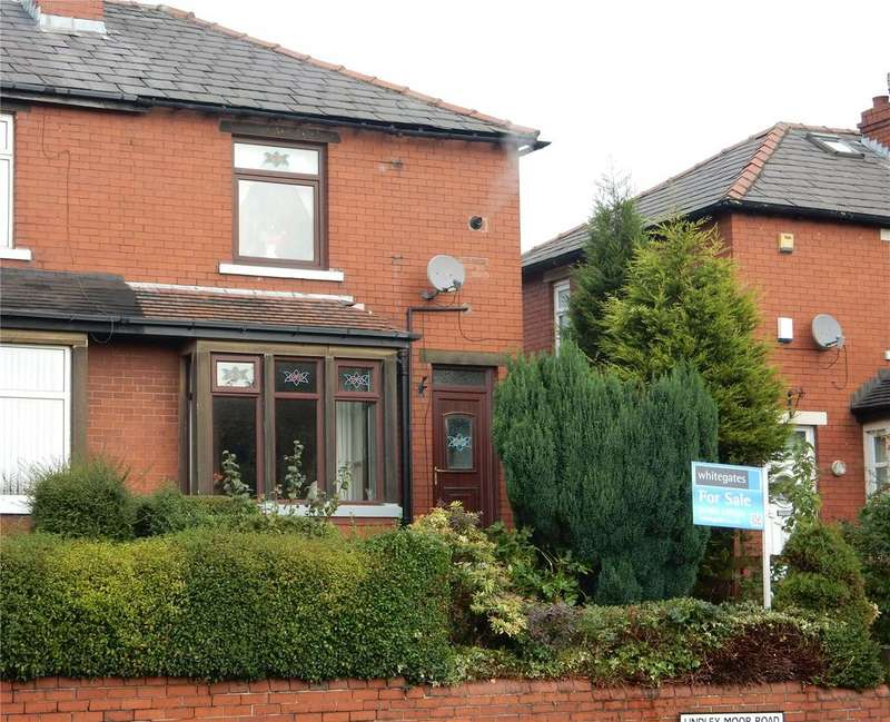 2 Bedrooms Semi Detached House for sale in Lindley Moor Road, Ainley Top, Huddersfield, HD3