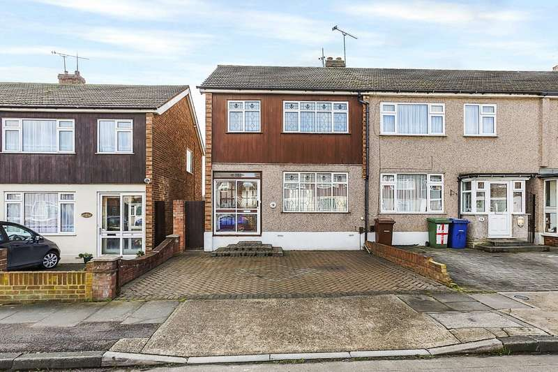 3 Bedrooms End Of Terrace House for sale in Rusdon Close, Grays