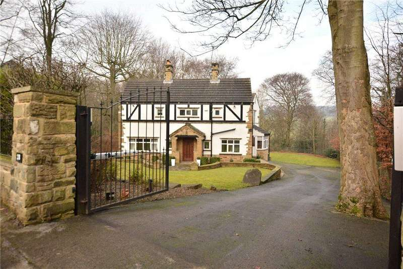 5 Bedrooms Detached House for sale in West Park Drive East, Roundhay, Leeds