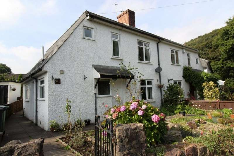 3 Bedrooms Semi Detached House for sale in Gelynis Terrace North, Morganstown