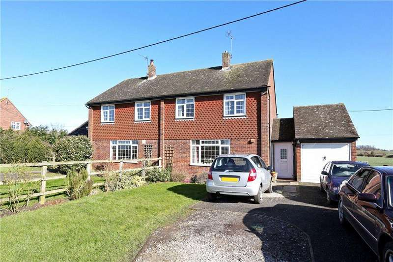 3 Bedrooms Semi Detached House for sale in Lower Wingbury Cottages, Aylesbury Road, Wing, Buckinghamshire