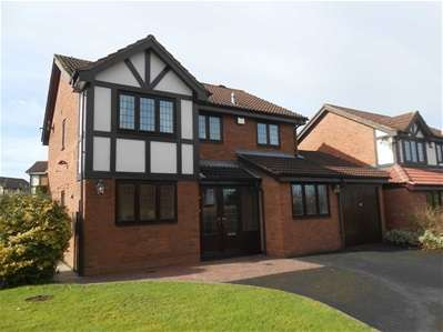 4 Bedrooms Detached House for sale in Turnberry Road, Bloxwich