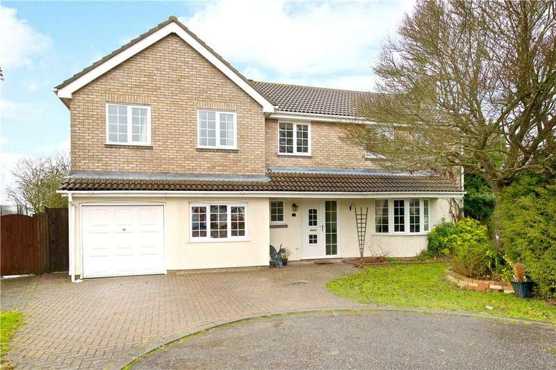5 Bedrooms Detached House for sale in Sitwell Close, Newport Pagnell, Buckinghamshire