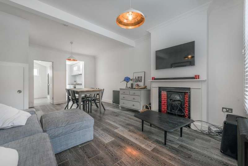 2 Bedrooms Terraced House for sale in Nutbourne Street, Queens Park, London, W10