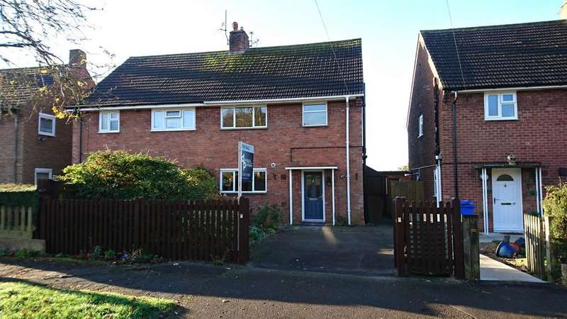 3 Bedrooms Semi Detached House for sale in Beaumont Crescent, Brackley