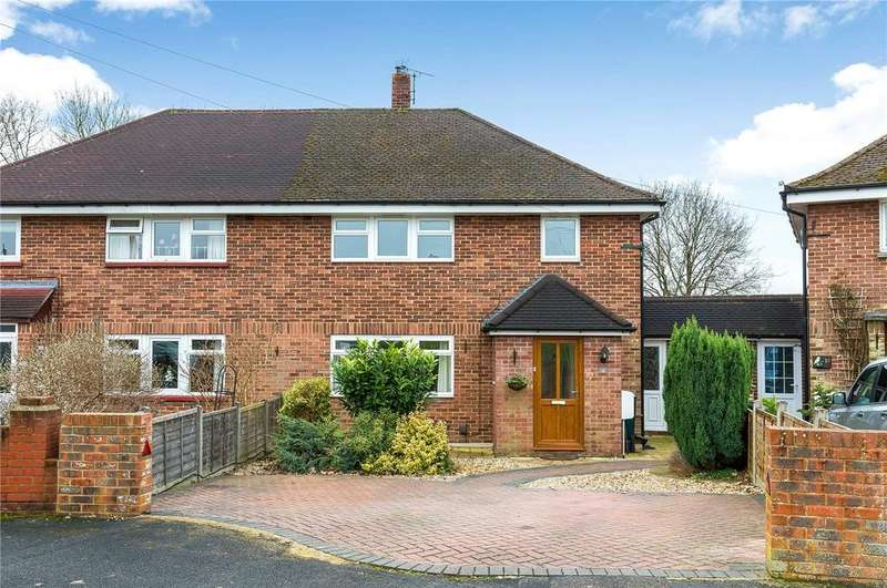 3 Bedrooms Terraced House for sale in Willis Waye, Kings Worthy, Winchester, SO23