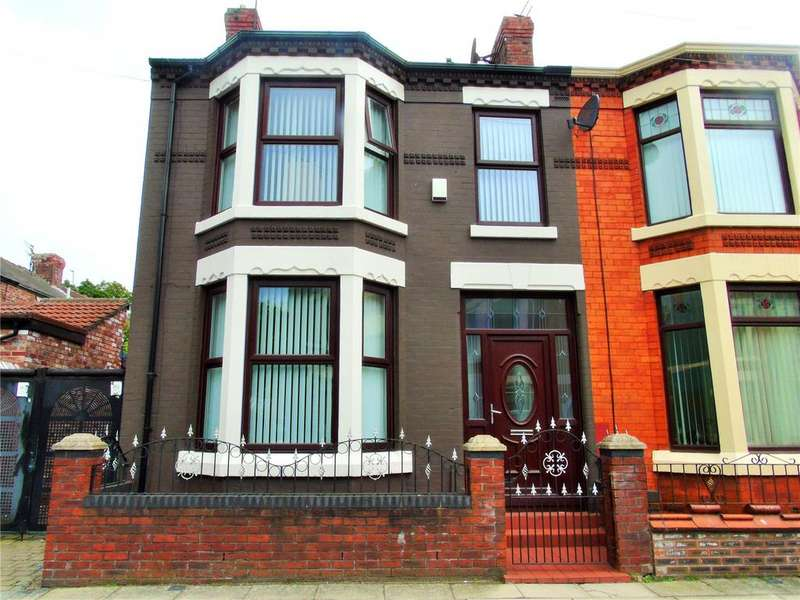 3 Bedrooms End Of Terrace House for sale in Ivernia Road, Walton, Liverpool, L4