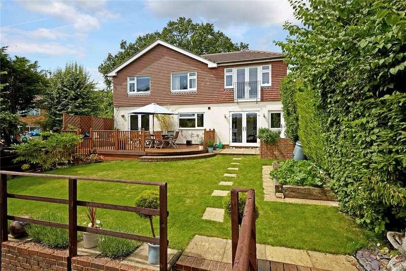 4 Bedrooms Detached House for sale in Oak Lodge Lane, Westerham, Kent, TN16