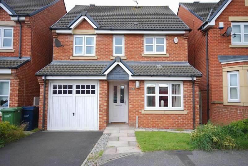 3 Bedrooms Detached House for sale in Southside Gardens, South Hylton