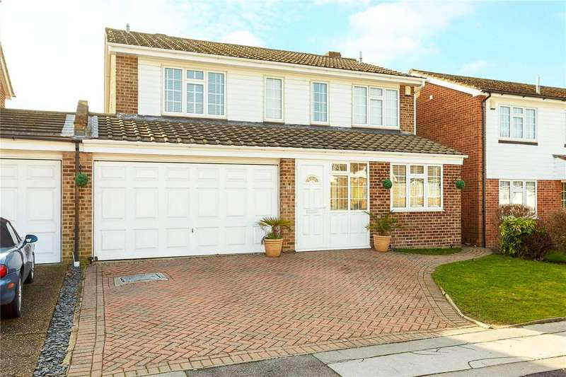 5 Bedrooms Link Detached House for sale in Partridge Drive, Orpington, Kent, BR6
