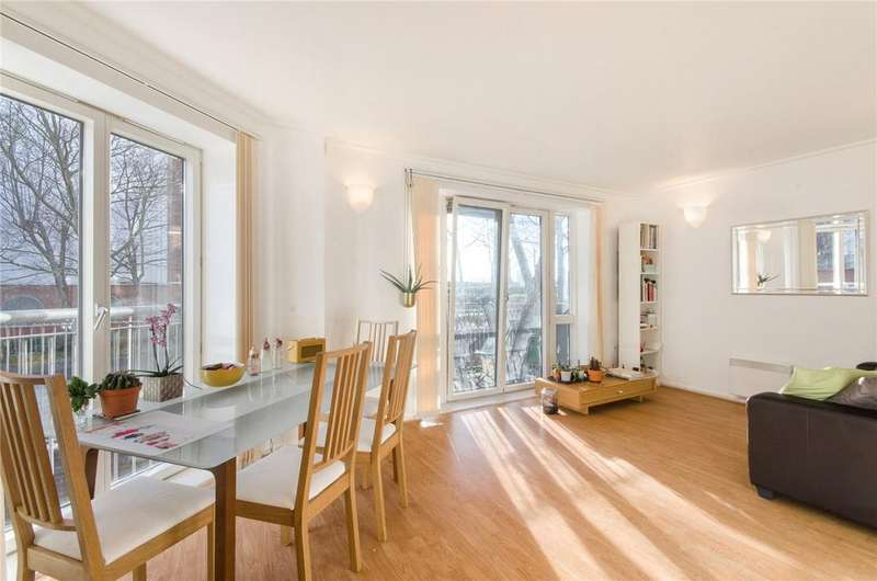 2 Bedrooms Flat for sale in Naxos Building, 4 Hutchings Street, Nr Canary Wharf, London, E14