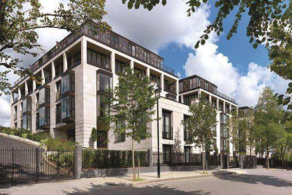 3 Bedrooms Flat for sale in St Edmund's Terrace, London, NW8