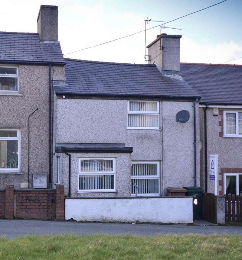 2 Bedrooms Terraced House for sale in Carneddi Road, Bethesda, North Wales