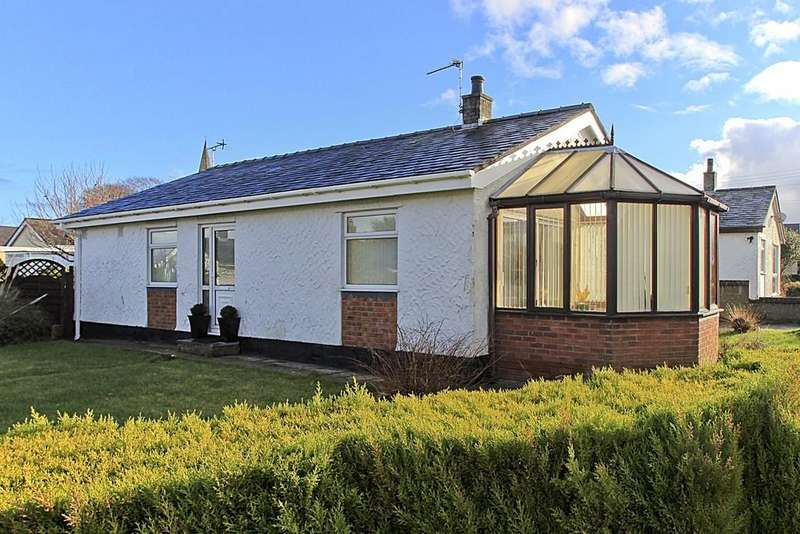 3 Bedrooms Detached Bungalow for sale in Treaserth Estate, Llangaffo, North Wales
